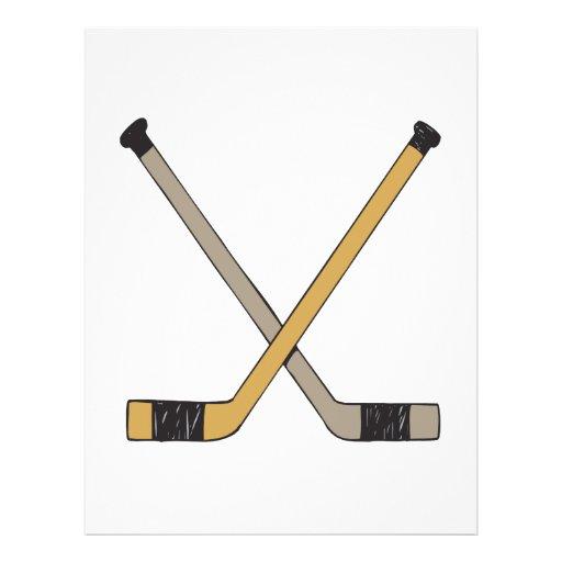 Hockey Sticks Custom Flyer