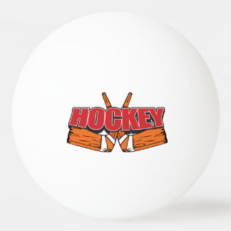 Hockey Sticks Ping Pong Ball