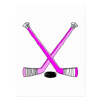 Hockey Sticks Post Cards