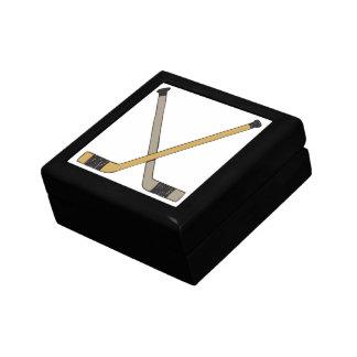 Hockey Sticks Small Square Gift Box