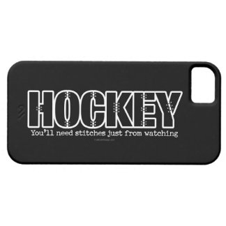 Hockey Stitches iPhone 5 Cases