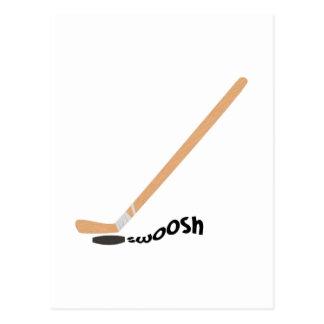 Hockey Swoosh Postcards