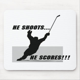 Hockey T-shirts and Gifts. Mouse Mat