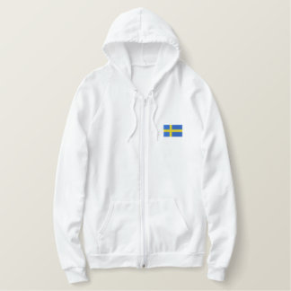 Hockey   Team SWEDEN Sports Embroidered Hoodie