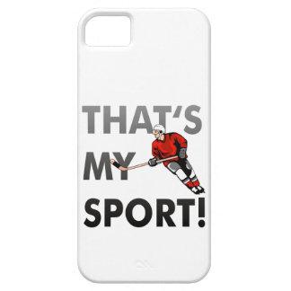 hockey - that s my sport iPhone 5 etui