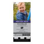 Hockey Ticket Birthday 10cm X 24cm Invitation Card