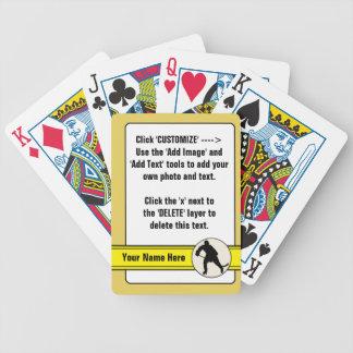 Hockey Trading Card Customizable Card Deck