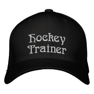 Hockey Trainer Embroidered Hat