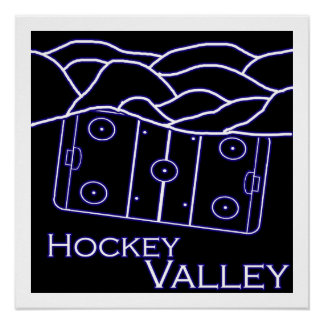 Hockey Valley Poster