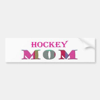 HockeyMom Bumper Sticker