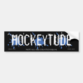HOCKEYTUDE BUMPER STICKER