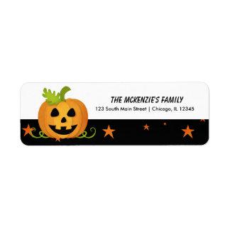 Hocus Pocus Pumpkin Return Address Label