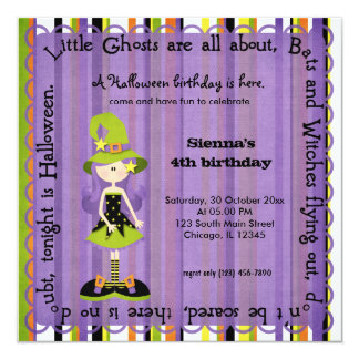 Hocus Pocus Witch Birthday Card