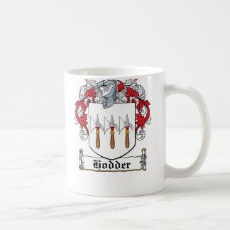 Hodder Family Crest Basic White Mug