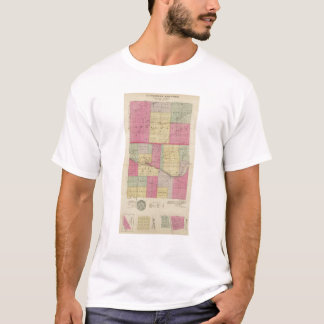 Hodgeman and Ford Counties, Bellefont, Kansas T-Shirt