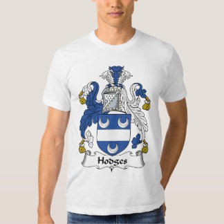 Hodges Family Crest Tshirts
