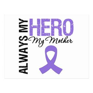 Hodgkin s Disease Mother Always My Hero Postcards