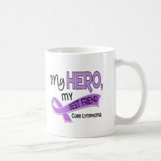 Hodgkin's Lymphoma MY HERO MY BEST FRIEND 42 Mug