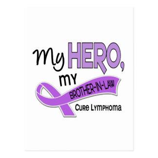 Hodgkin's Lymphoma MY HERO MY BROTHER-IN-LAW 42 Postcard
