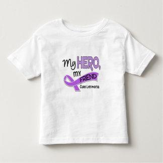 Hodgkin's Lymphoma MY HERO MY FRIEND 42 Tee Shirt