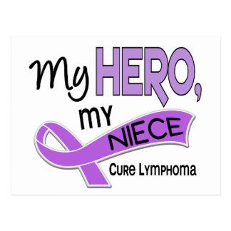 Hodgkin's Lymphoma MY HERO MY NIECE 42 Postcard