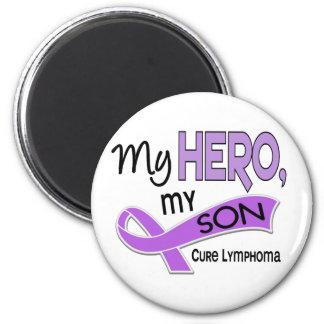 Hodgkin's Lymphoma MY HERO MY SON 42 6 Cm Round Magnet