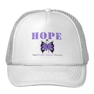 Hodgkin's Disease Hope Butterfly Hats