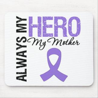 Hodgkin's Disease Mother Always My Hero Mouse Pads