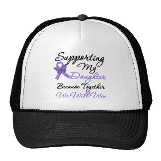 Hodgkin's Disease Supporting Daughter Mesh Hat