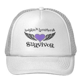 Hodgkin's Disease Survivor Trucker Hats