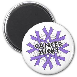 Hodgkins Lymhoma Cancer Sucks Fridge Magnets