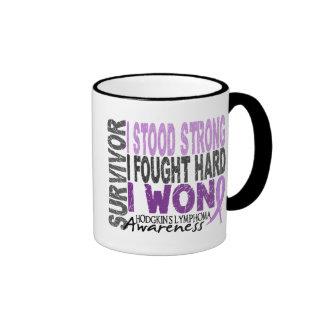 Hodgkins Lymphoma aka Hodgkin s Disease Survivor 4 Mug