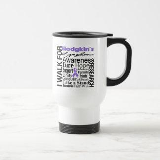 Hodgkins Lymphoma Awareness Walk Coffee Mugs