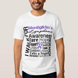 Hodgkins Lymphoma Awareness Walk Shirt