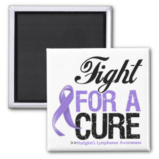 Hodgkins Lymphoma Fight For a Cure Refrigerator Magnet