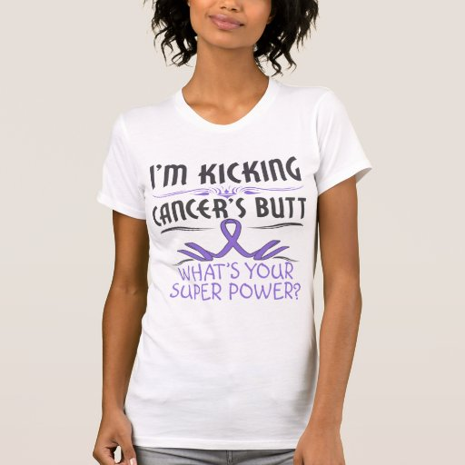 Hodgkins Lymphoma Kicking Cancer Butt Super Power Shirts