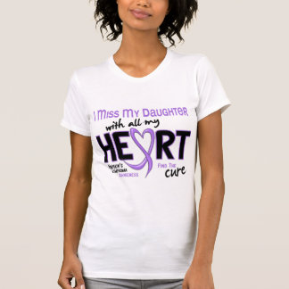 Hodgkins Lymphoma Miss With All My Heart Daughter Shirt