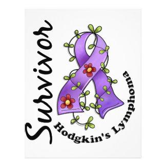 Hodgkin's Lymphoma Survivor 15 21.5 Cm X 28 Cm Flyer