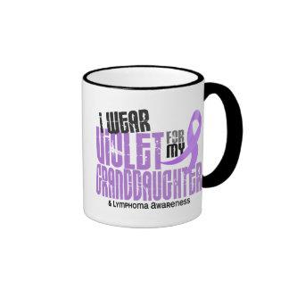 Hodgkins Lymphoma Violet For My Granddaughter Coffee Mugs