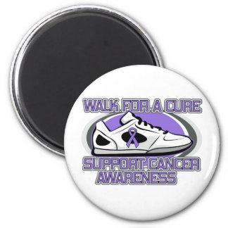 Hodgkins Lymphoma Walk For A Cure Fridge Magnet
