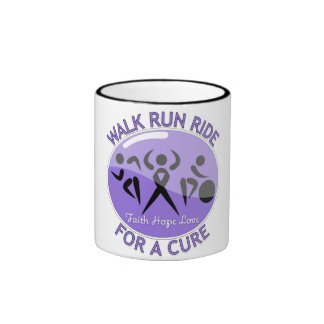 Hodgkin's Lymphoma Walk Run Ride For A Cure Coffee Mug