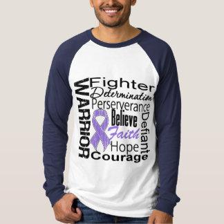 Hodgkins Lymphoma Warrior Collage T-Shirt