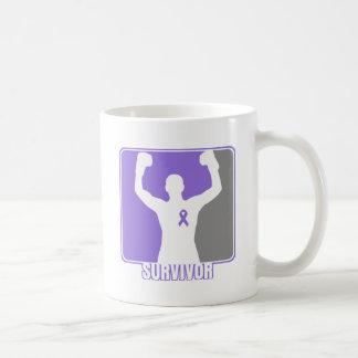 Hodgkin's Lymphoma Winning Survivor Basic White Mug
