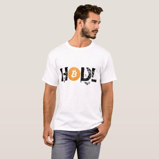 HODL Bitcoin Basic T-Shirt Black Text