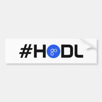 #HODL OmiseGO OMG Bumper Sticker