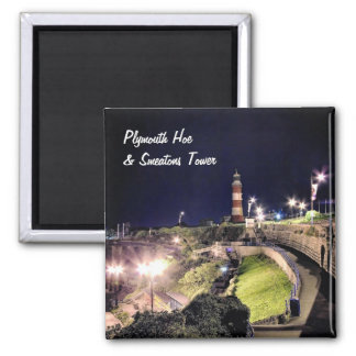 Hoe Approach and Smeaton's Tower Square Magnet