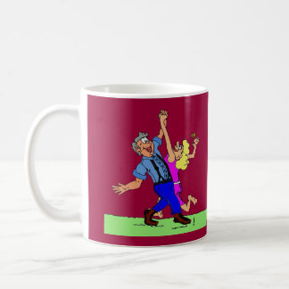 Hoe Down Square Dancers Coffee Mugs