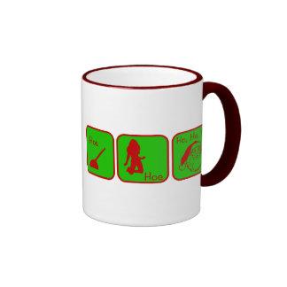 Hoe, Hoe, Ho Ho Ho Coffee Mug