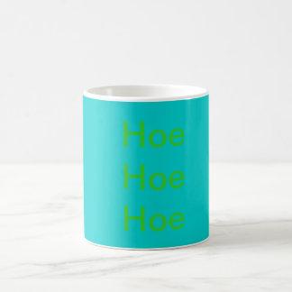 Hoe Hoe Hoe Basic White Mug