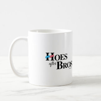 Hoes after Bros -- Anti Hillary png.png Basic White Mug